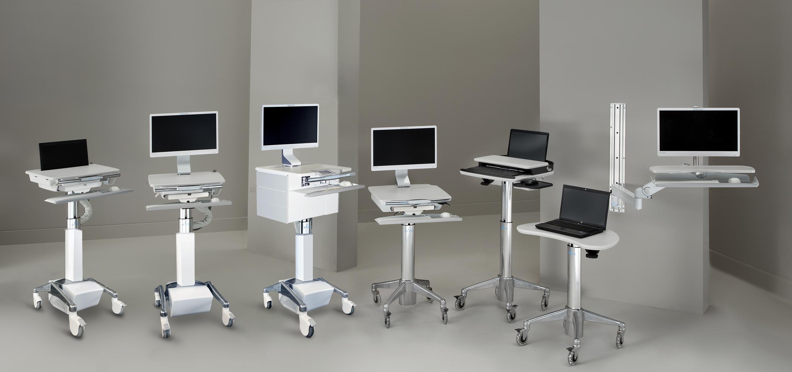 Notre gamme de chariots médicaux